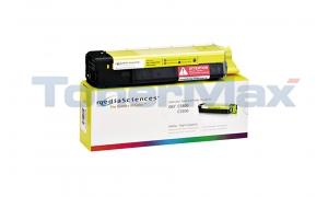 MEDIA SCIENCES TONER YELLOW HY FOR OKI C5500 C5800 (MSOK5855YHC)