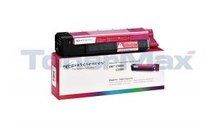 MEDIA SCIENCES TONER MAGENTA HY FOR OKI C5500 C5800 (MSOK5855MHC)
