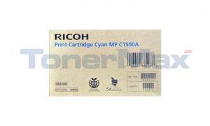 RICOH AFICIO MP C1500A PRINT CARTRIDGE CYAN (888526)