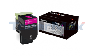 LEXMARK CS410 TONER CARTRIDGE MAGENTA 3K (70C0H30)