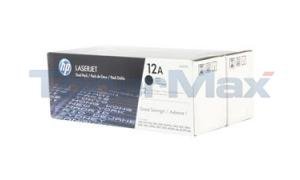 HP NO 12A PRINT CARTRIDGE DUAL PACK (Q2612D)