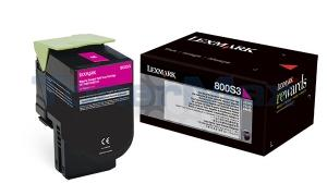 LEXMARK CX310 TONER CART MAGENTA 2K (80C0S30)