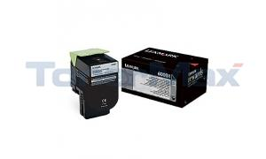 LEXMARK CX310 TONER CARTRIDGE BLACK 2.5K (80C0S10)