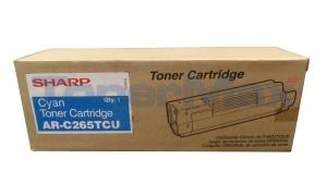 SHARP AR-C265P TONER CARTRIDGE CYAN (AR-C265TCU)