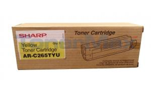 SHARP AR-C265P TONER CARTRIDGE YELLOW (AR-C265TYU)
