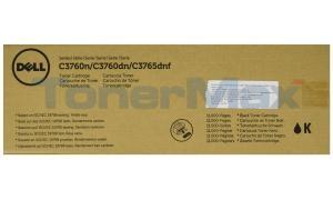 DELL C3760N TONER CARTRIDGE BLACK 11K (331-8429)