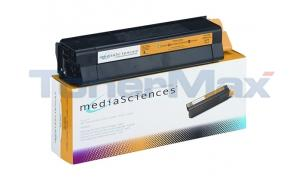 MEDIA SCIENCES TONER YELLOW FOR OKI C5000 (MS5000Y)