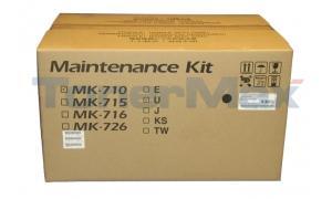 KYOCERA MITA FS-9130DN MAINTENANCE KIT 120V (MK-710U)