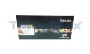 LEXMARK C770N RP TONER CARTRIDGE YELLOW TAA 15K (C7726YX)