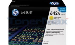 HP CLR LJ CP4005 PRINT CART YELLOW (CB402A)