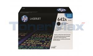 HP CLR LJ CP4005 PRINT CART BLACK (CB400A)