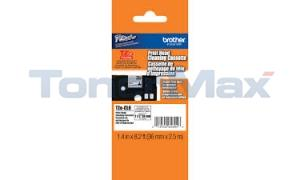 BROTHER TZ HEAD CLEANING TAPE 36 MM X 2.5 M (TZE-CL6)