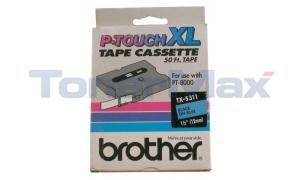 BROTHER TX TAPE BLACK ON BLUE 1/2IN X 50F (TX-5311)