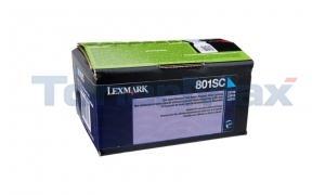 LEXMARK CX510 TONER CARTRIDGE CYAN RP 2K (80C1SC0)