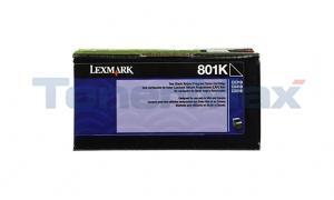 LEXMARK CX510 TONER CARTRIDGE BLACK RP 1K (80C10K0)