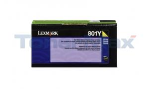 LEXMARK CX510 TONER CARTRIDGE YELLOW RP 1K (80C10Y0)