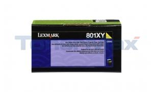 LEXMARK CX510 TONER CARTRIDGE YELLOW RP 4K (80C1XY0)