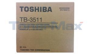 TOSHIBA E-STUDIO 3511/4511 TONER BAG (TB-3511)