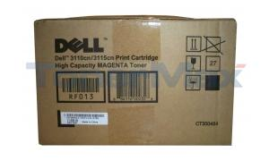 DELL 3110CN 3115CN TONER CARTRIDGE MAGENTA 8K (310-8096)