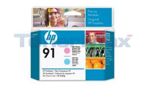 HP NO 91 PRINTHEAD LIGHT MAGENTA AND LIGHT CYAN (C9462A)