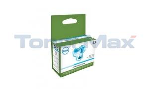 DELL 33 SERIES SINGLE USE INK CARTRIDGE CYAN XHY (331-7378)