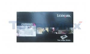 LEXMARK C522 RP TONER CART MAGENTA TAA (C5226MS)