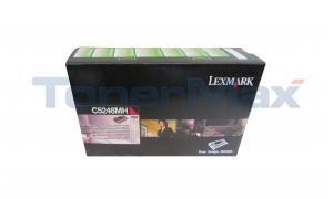 LEXMARK C524 RP TONER CART MAGENTA HY TAA (C5246MH)