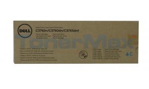 DELL C3760N TONER CARTRIDGE CYAN 5K (331-8428)