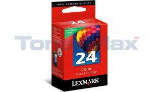 LEXMARK 24 INK CARTRIDGE COLOR RP (18C1524)