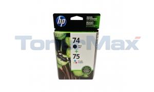 HP NO 74 75 INK CTG BLACK/TRICOLOR COMBO PACK (CC659FN)
