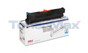OKIDATA C9600/C9800 TYPE C7 DRUM CYAN (42918103)
