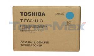 TOSHIBA E-STUDIO 210C TONER CYAN (T-FC31U-C)