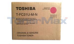 TOSHIBA E-STUDIO 211C 311C TONER MAGENTA (T-FC31U-M-N)