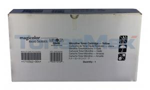 QMS MAGICOLOR 6100 TONER YELLOW (1710362-004)