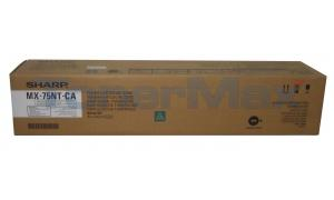 SHARP MX-6500N TONER CARTRIDGE CYAN (MX-75NTCA)