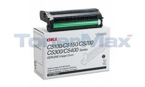 OKIDATA C5000 IMAGE DRUM BLACK (42126604)