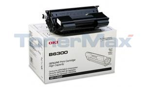 OKIDATA B6300 TONER CARTRIDGE BLACK 17K (52114502)