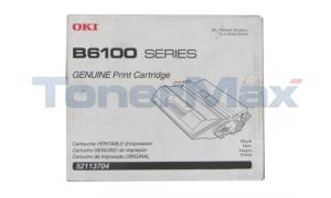 OKIDATA B6100 TONER CARTRIDGE BLACK 6K (52113704)