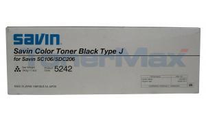 SAVIN SDC206 TYPE J TONER CYAN (5245)
