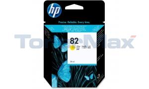 HP NO 82 INK YELLOW 28ML (CH568A)