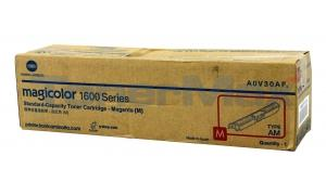KONICA MINOLTA MAGICOLOR 1690MF TONER CARTRIDGE MAGENTA (TYPE AM) (A0V30AF)