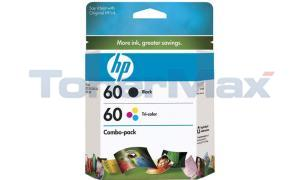 HP DESKJET D2530 NO 60 INK BLACK/TRICOLOR (CD947FN)