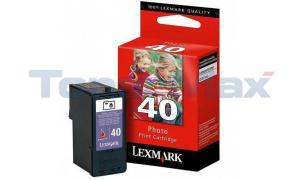 LEXMARK X4850 NO. 40 PRINT CART PHOTO (18Y0340)