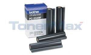 BROTHER PC204RF REFILL ROLLS BLACK (PC-204RF)