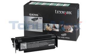 LEXMARK T420 TONER CARTRIDGE BLACK RP 10K (12A7415)