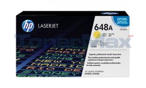 HP COLOR LASERJET CP4025 PRINT CARTRIDGE YELLOW (CE262A)