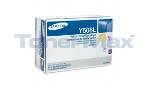 SAMSUNG CLP-620ND TONER CARTRIDGE YELLOW 4K (CLT-Y508L/XAA)