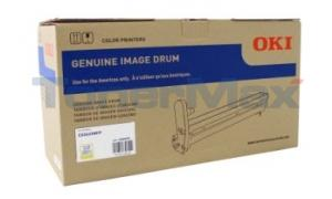 OKIDATA CX2633 MFP IMAGE DRUM KIT YELLOW (44064029)