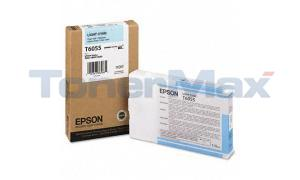 EPSON STYLUS PRO 4880 INK CARTRIDGE LIGHT CYAN 110ML (T605500)