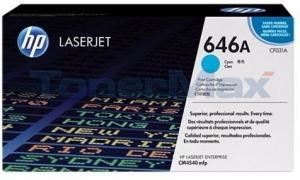 HP CLJ ENTERPRISE CM4540 MFP PRINT CTG CYAN (CF031A)